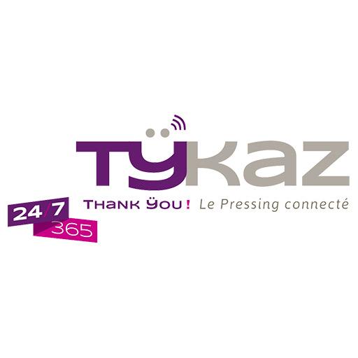 Logo Tykaz - Pressing connecté