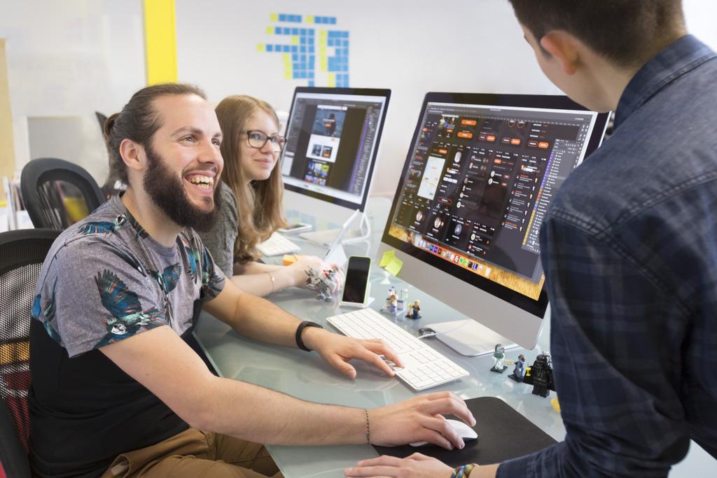 Equipe design Mobizel