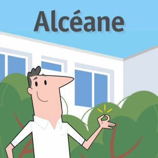 Site web Alcéane (office HLM du Havre)